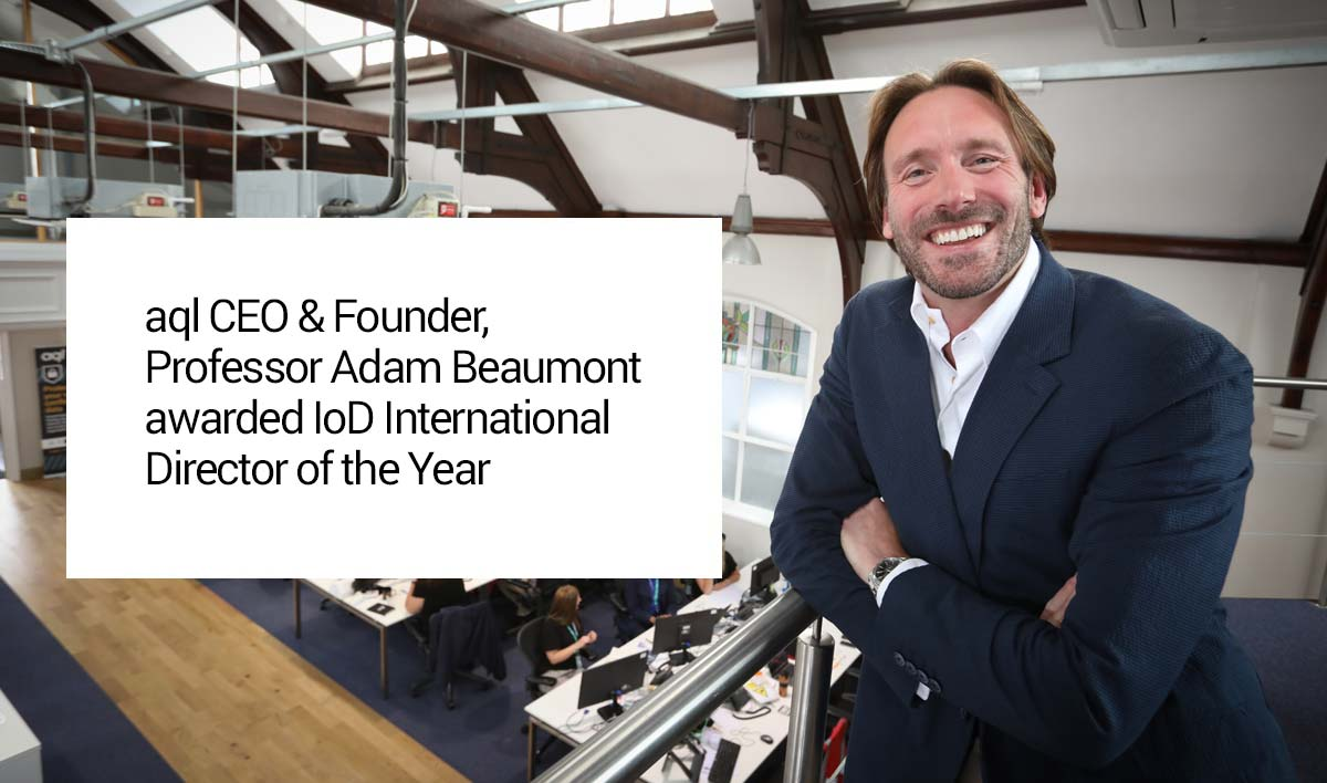 Professor Adam Beaumont - IOD International Director of the Year
