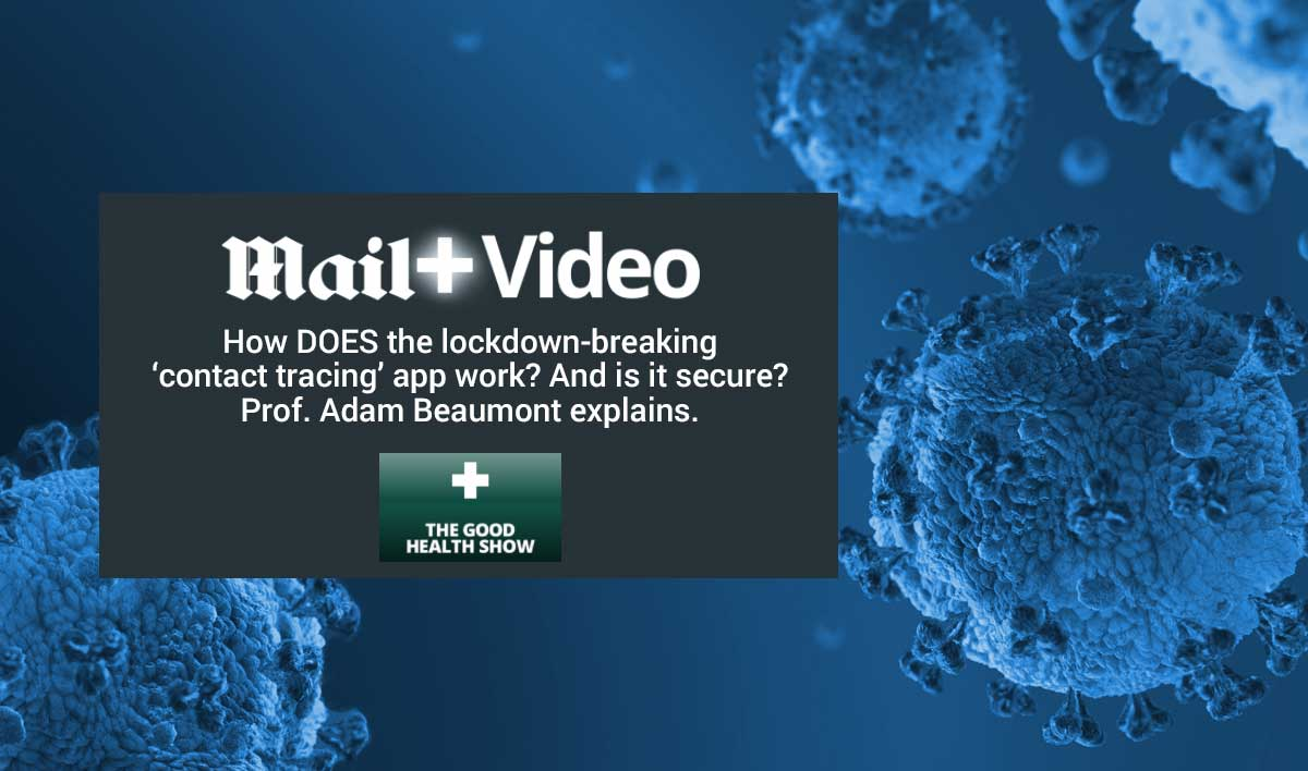 Daily Mail video - Covid contact tracing
