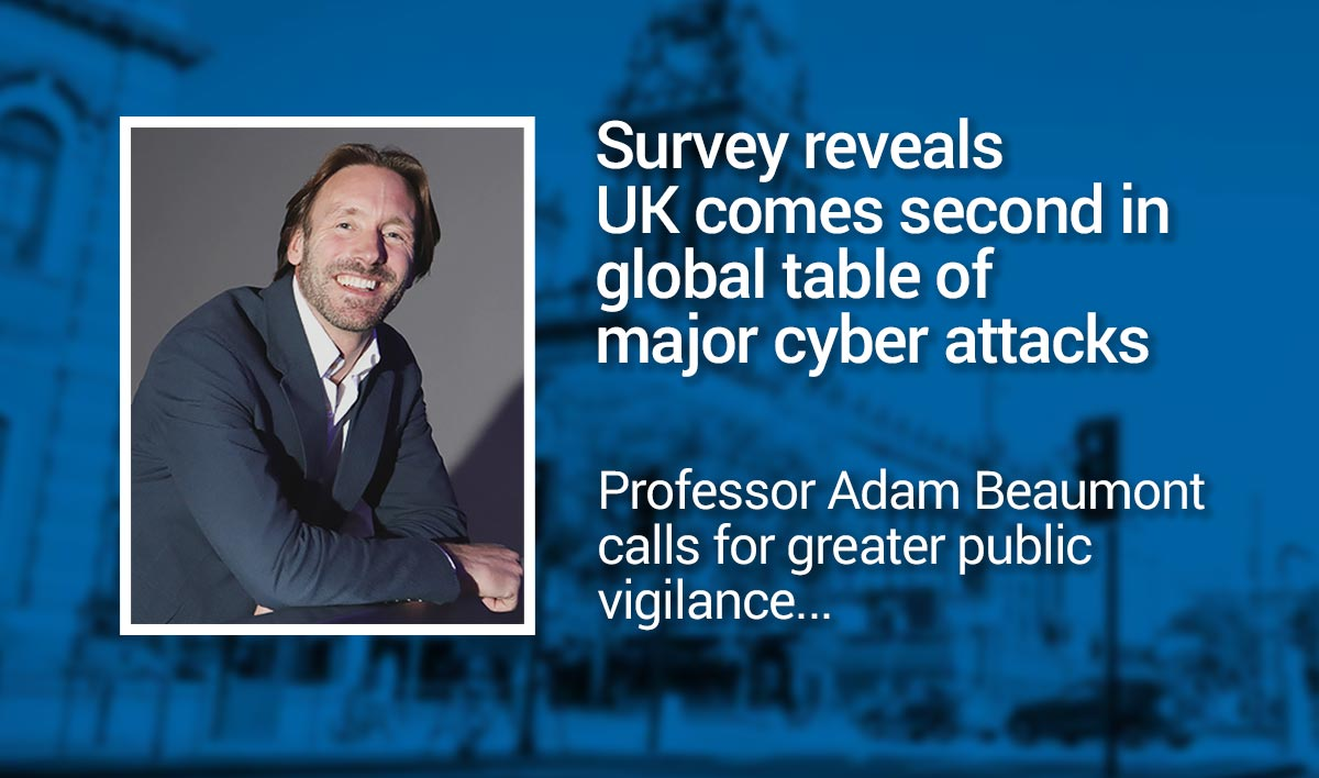 UK come second in global table of major cyber attacks