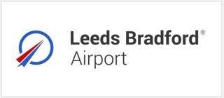 image: Leeds Bradford Airport logo
